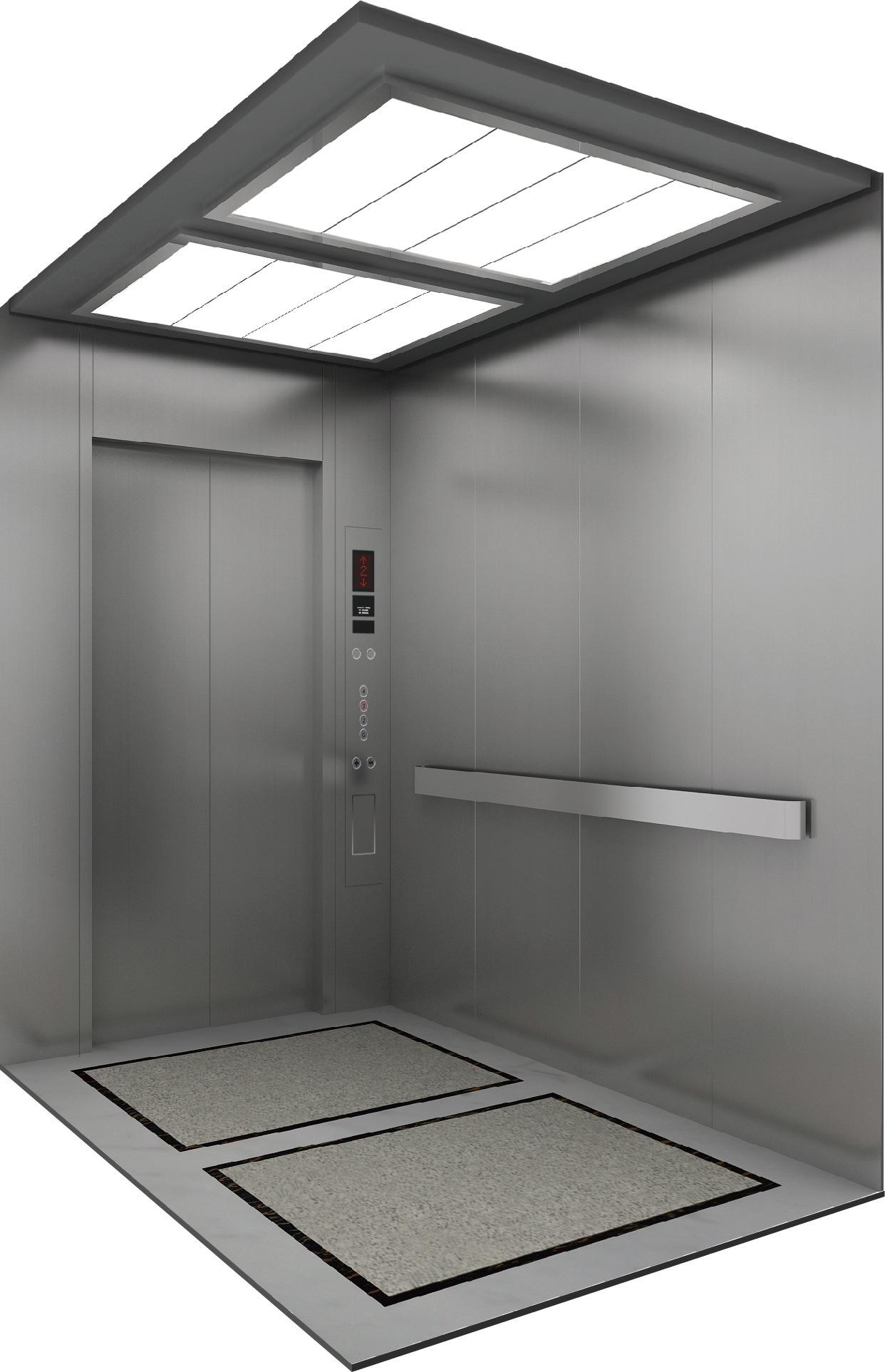 China Machine Roomless 13 Passenger Elevator 1250kg Lift