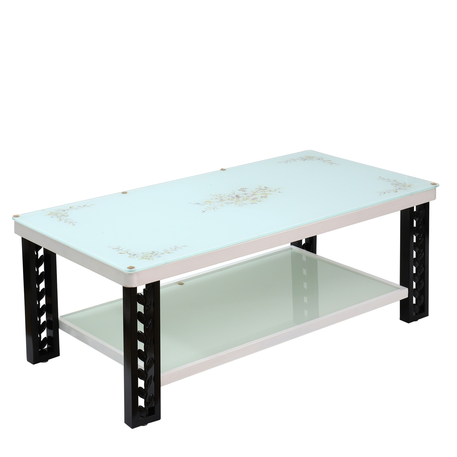 China tempered glass coffee table aluminum leg new design brushed finish modern furniture new design tea table 2019 center table china coffee table