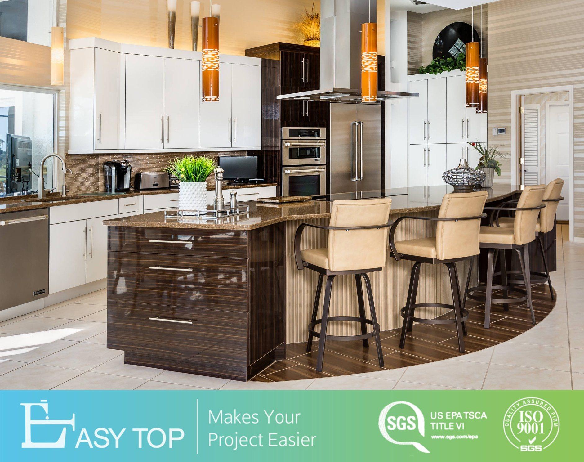 China Customized High Gloss White Wall Cabinet With Uv Base Kitchen Cabinets China Kitchen Cabinets Kitchen Furniture