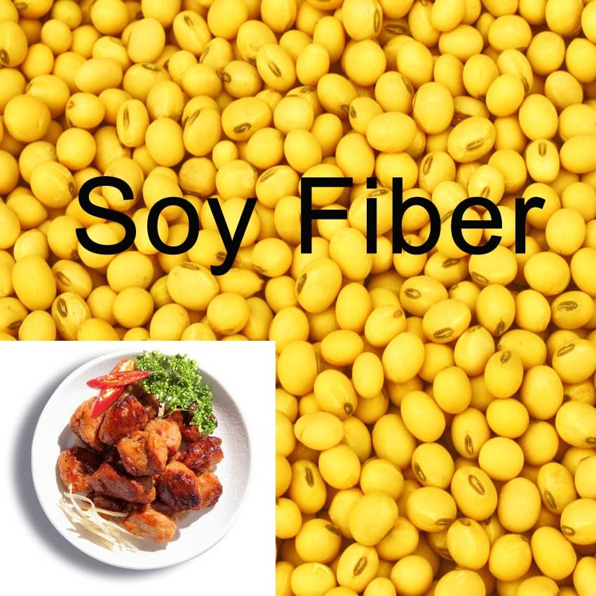 China Soy Dietary Fiber Used In Meat Products & Tomato