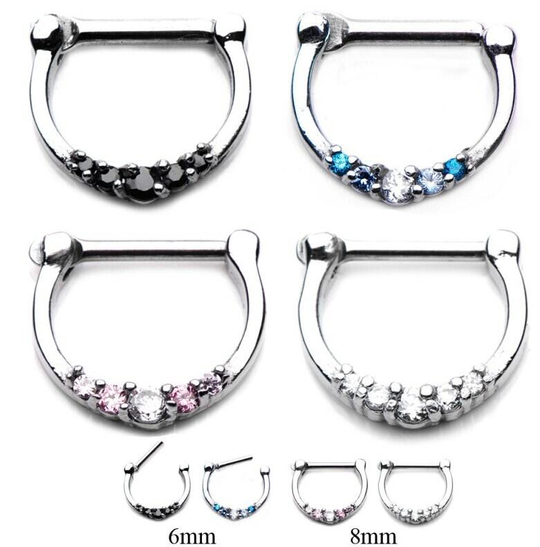 Professional Piercing Gun Steel Ear Nose Navel Body Piercing Body JewelryTool DD