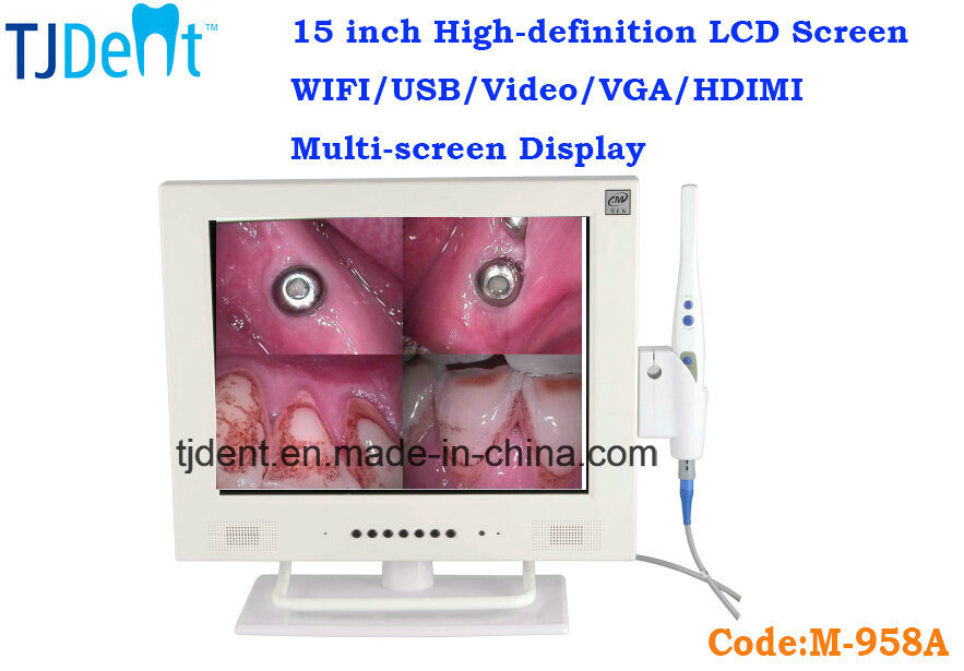 [Hot Item] 15 Inch LCD Screen CCD High Definition WiFi Dental Intraoral  Camera (M-958A)