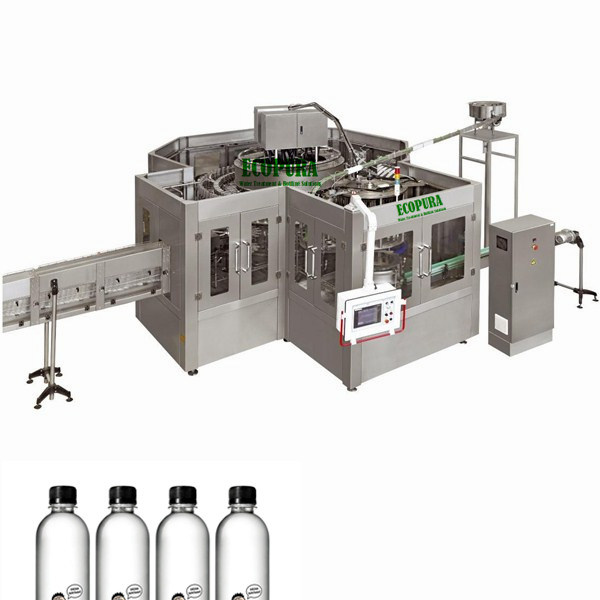 Automatic Drinking Water Filling Machine / Bottling Equipment / Packing Line (6000-8000B/H@0.5L)