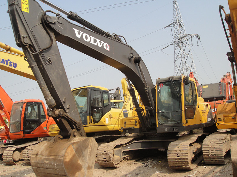 Used Volvo 210 Excavator Ec210blc Digger Good Condition Best Price, Warranty 3 Years Secondhand pictures & photos