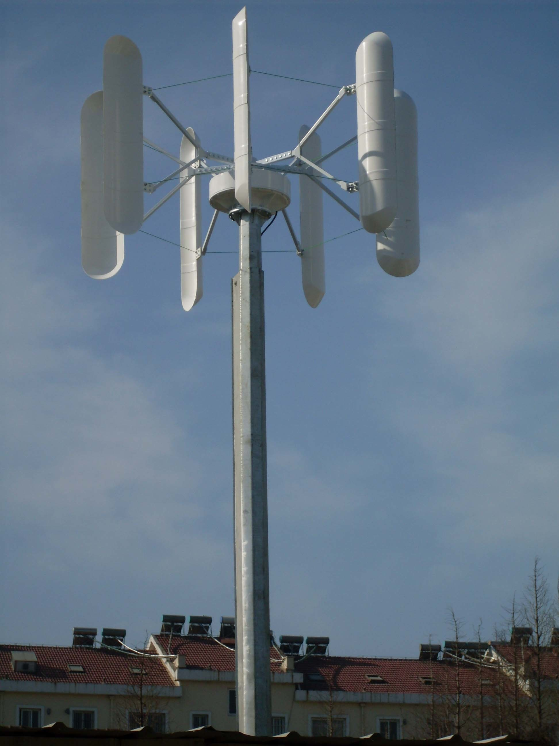 Vertical Axis Wind Turbine Generator/Alternator pictures & photos