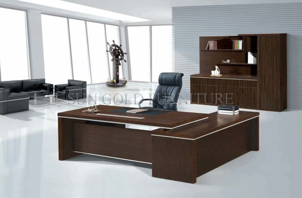 China Top Quality Melamine Wooden Office Desk High End Table Sz Od313