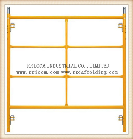 Canada Lock Powder Coated Scaffolding Frame pictures & photos