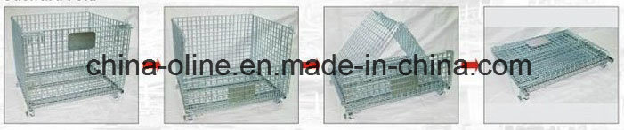 Euro Foldable Storage Equipment Cage pictures & photos