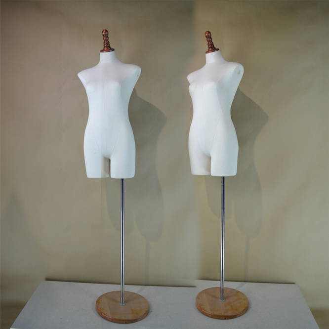 Fabric Wrapped Female Torso Mannequin From Yazi Mannequin