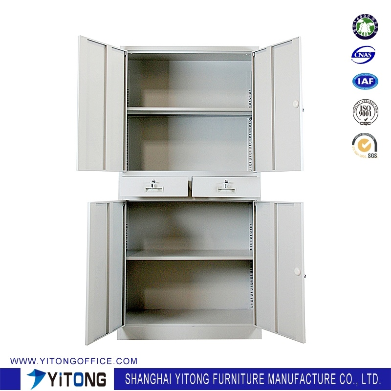 Yitong 4-Door2-Drawer Metal Storage Cabinet / Office Use Steel File Cabinet