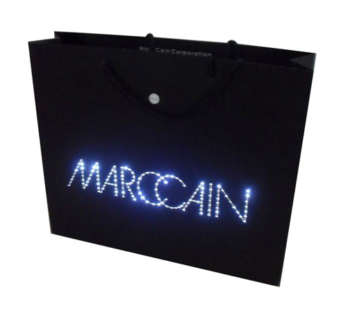 China Fashionable Promotional Light Up Bag China Light