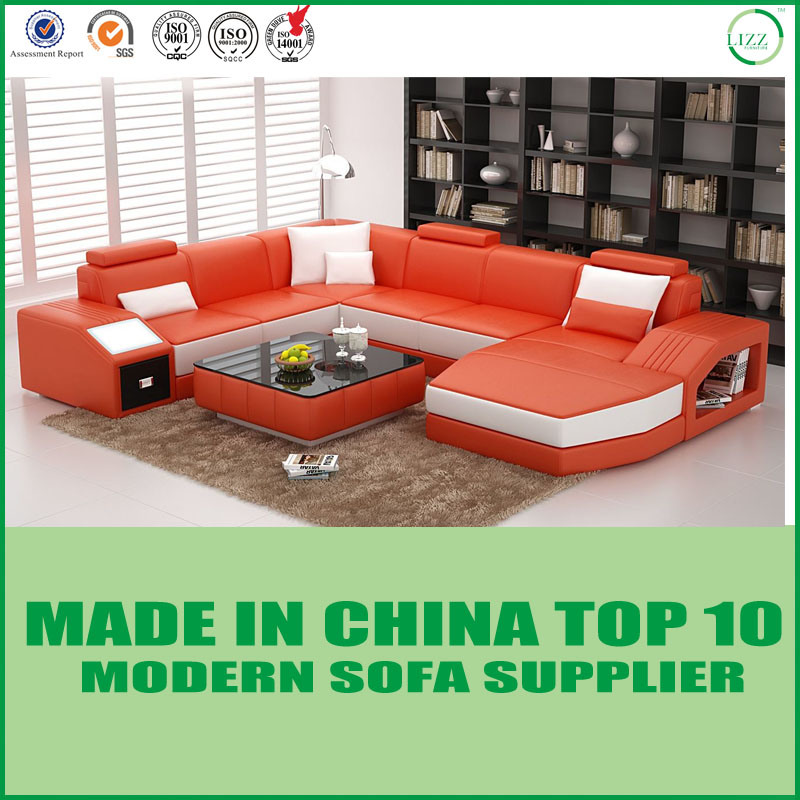 Astounding China Living Room Furniture Modern Design Leather Sectional Pabps2019 Chair Design Images Pabps2019Com