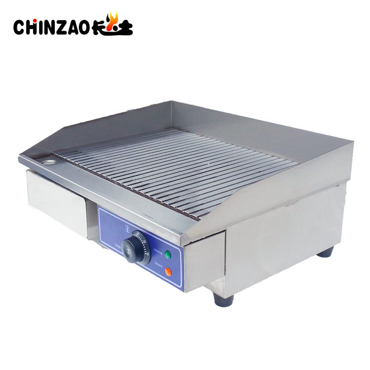 [Hot Item] Commercial Kitchen Flat Hotplate Grill BBQ Teppanya Electric  Griddle
