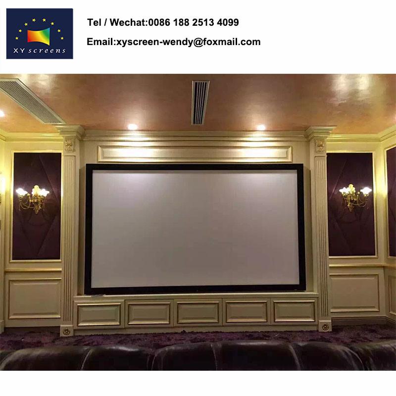 China Wholesale Price PVC Matt White Projection Screen, Frame Screen ...