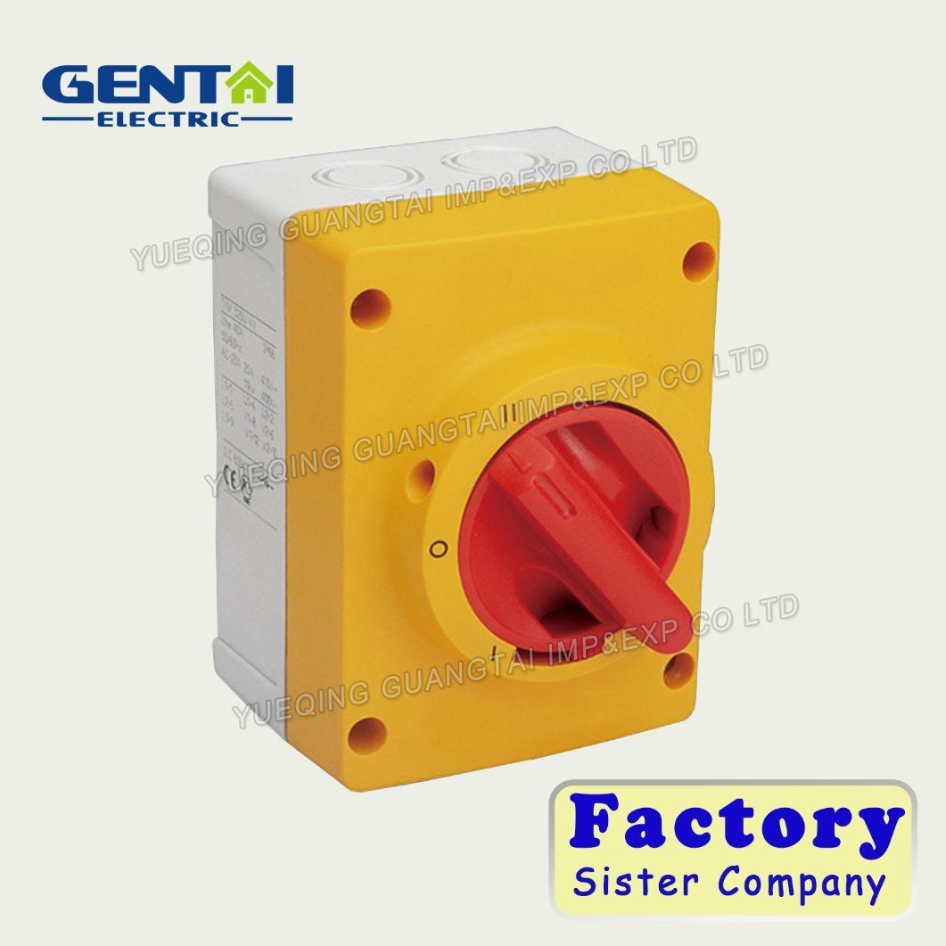 China Best Quality Changeover Switch Cam Selector Rotary