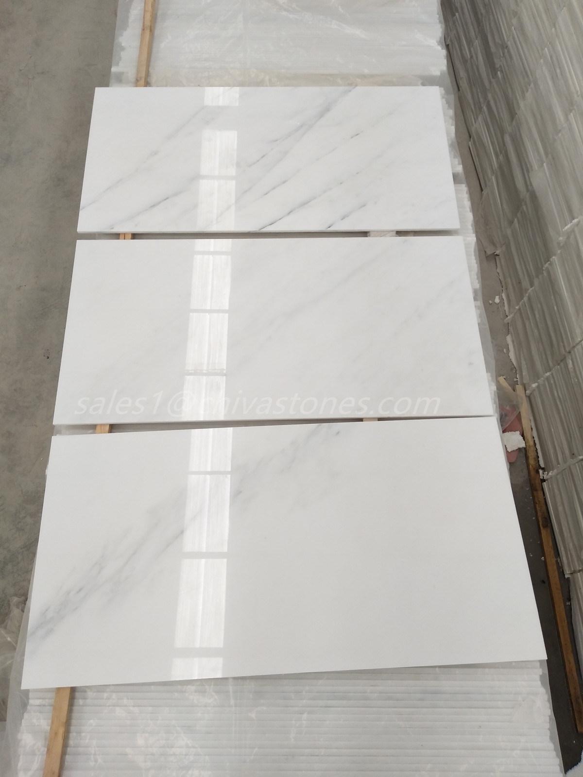 China Easten White Oriental White Marble Floor Tile Photos