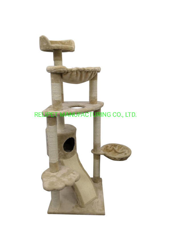 Pet Supply Customized Wholesale Big Cat Tree with Scratching Post Pet Product pictures & photos