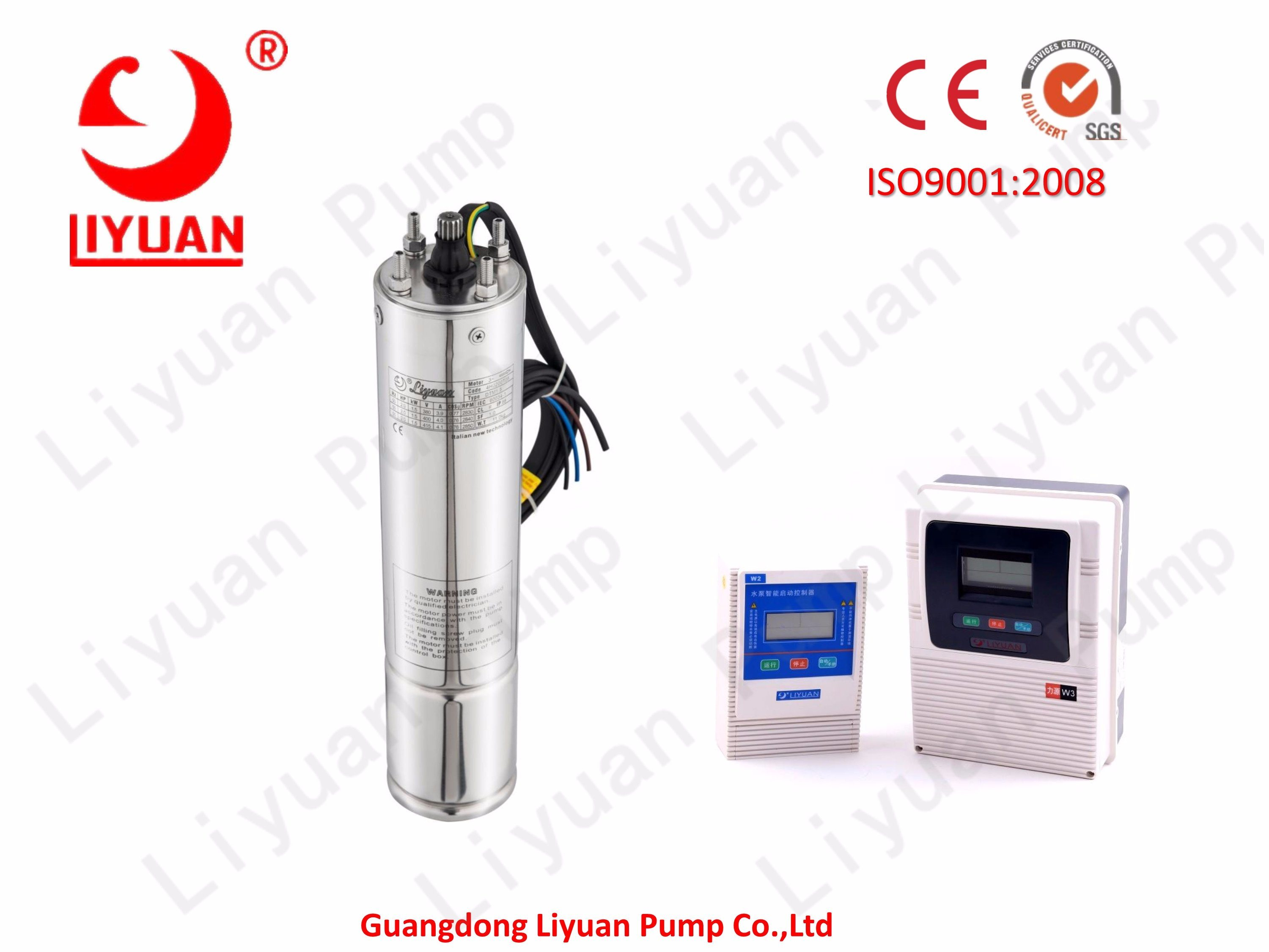 4 Inch 1.5HP Submersible Motor High-Quality Single Phase 220V Deep Well Motor pictures & photos