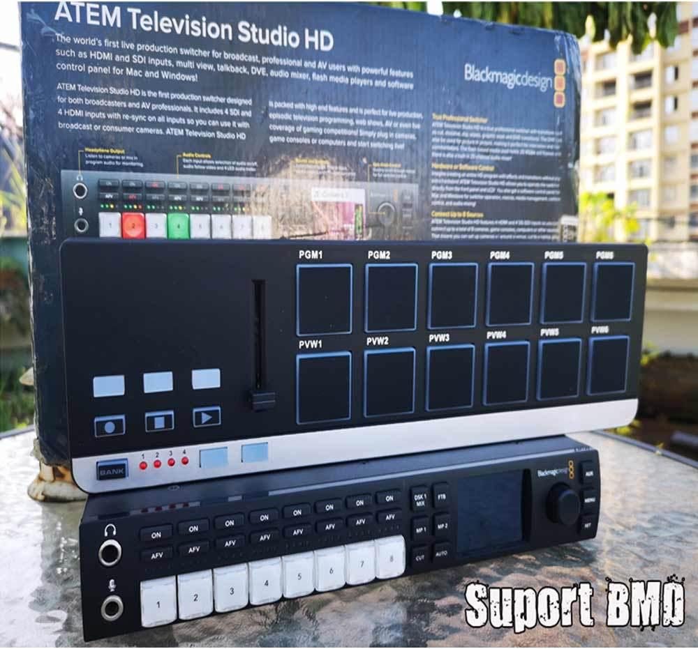 [Hot Item] Brandnew Vmix Livestreaming Video Production Switcher USB  Keyboard Support Blackmagic Atem 1 M/E Production Studio All 21 Button  Setup Free
