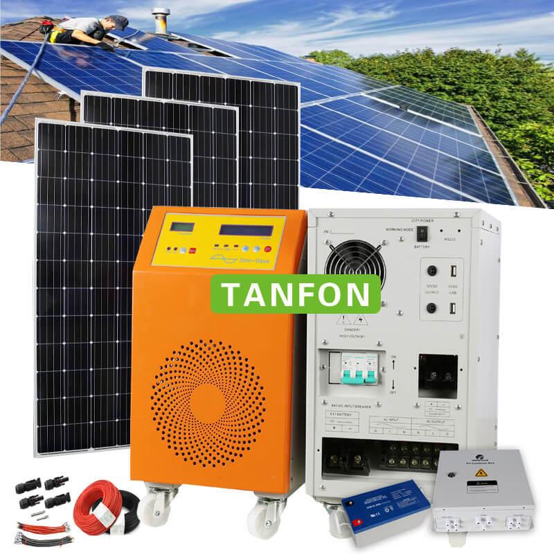 [Hot Item] 6000W Output Power 6kw Home Solar Energy Solar Power System