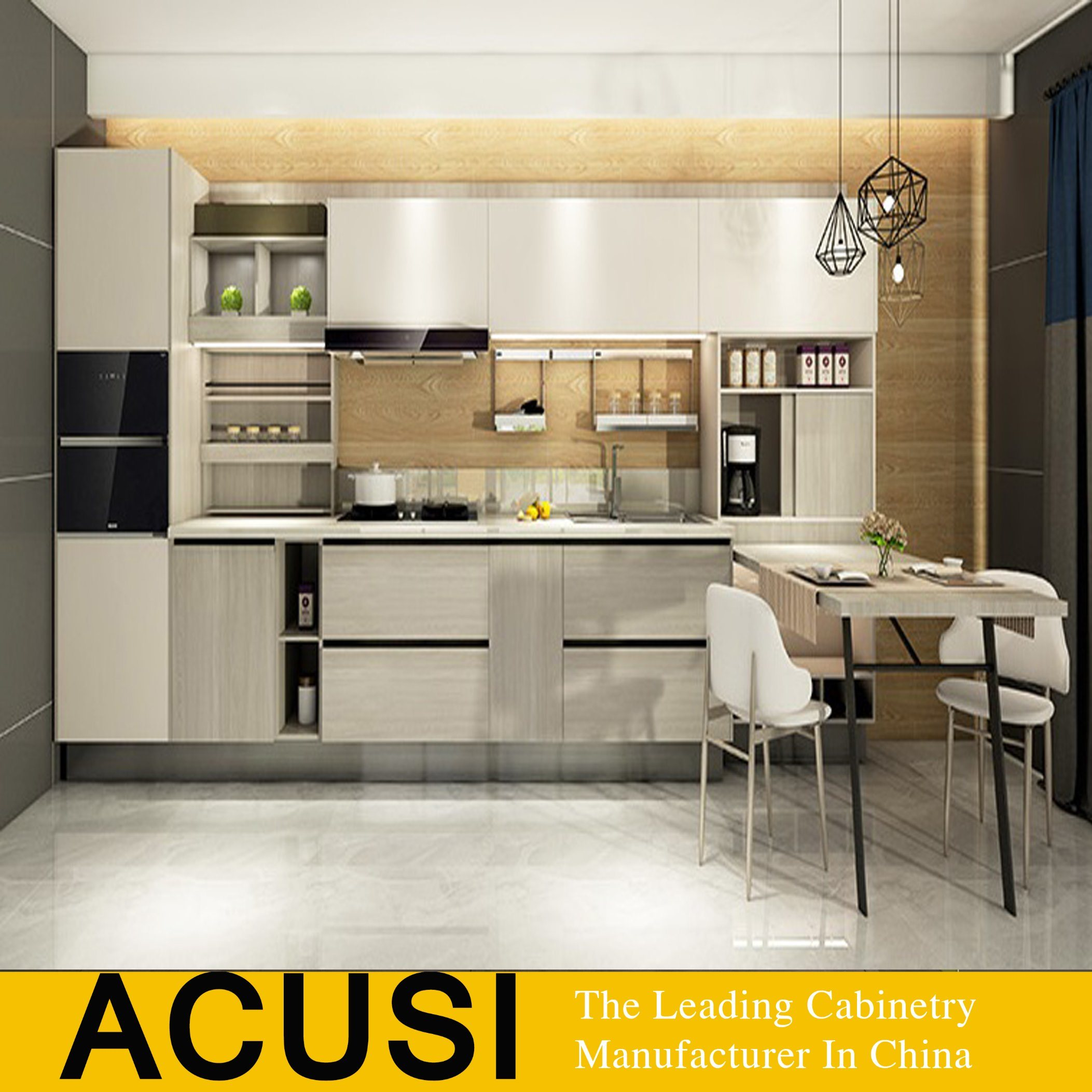 China Apartment Modern Simple Lacquer Modular Kitchen Cabinet Acs2 W83 Photos Pictures Made In China Com