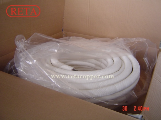 Fire Rated Insulation Copper Tube