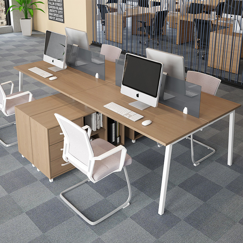Modern Furniture Two Person Office Desk