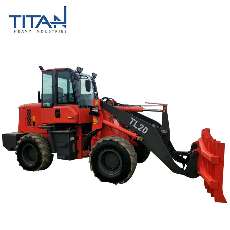 China Titan Tl20 Mini Tractor Loader with Quick Hitch for