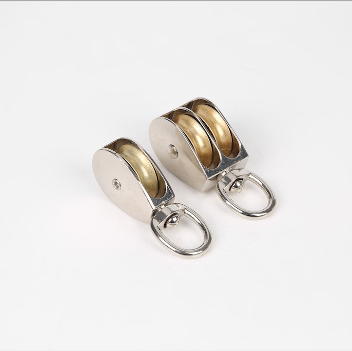 [Hot Item] ISO Certificated Alloy Steel Single Pulley Wire Rope Pulley for  Screw