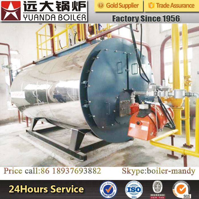 Factory Price Low Pressure Fire Tube Trade Assurance 6ton Gas Steam Boiler pictures & photos