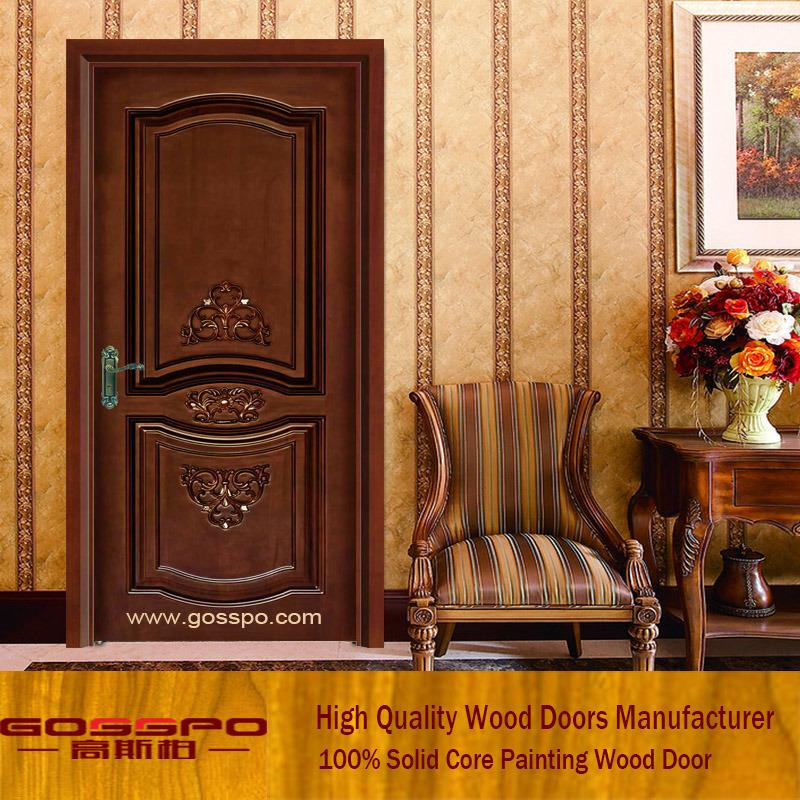 China Modern Interior Wood Carving Door Design (GSP2-039) - China Wooden Door Wooden Door for Bedroom & China Modern Interior Wood Carving Door Design (GSP2-039) - China ...