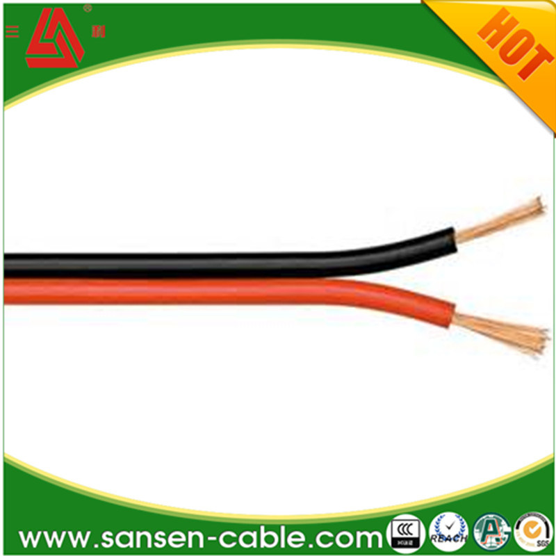 China Flexible Flat Twin Cable, OFC, Speaker Cable, Clear Speaker ...