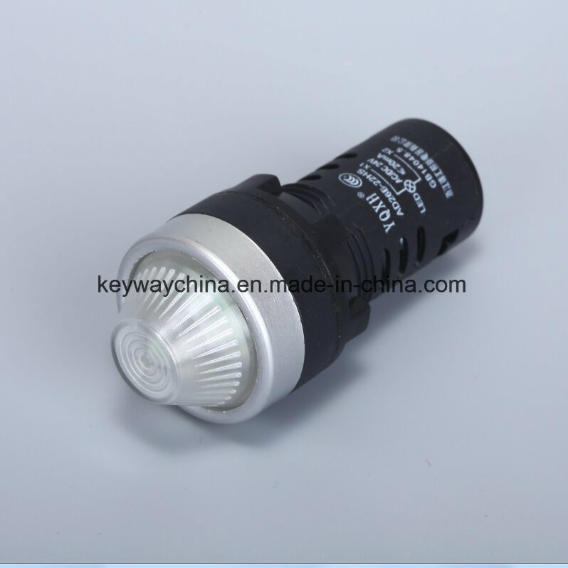 22mm LED Pilot Light/Indicator Lamp with Ce/CB/CCC
