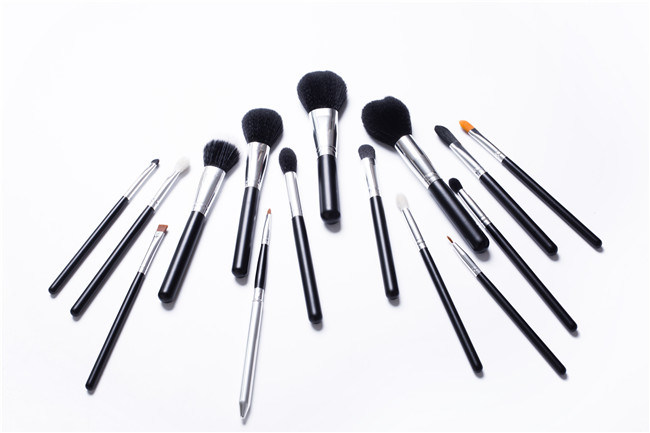Wholesale 15PCS Cosmetics Tool Makeup Brushes Available for Private Logo