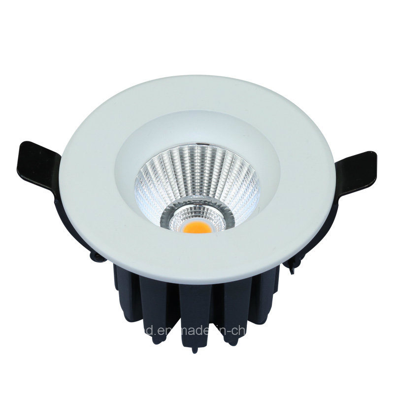 Aluminum COB Recessed LED Ceiling Down Light (Cutout 75mm)