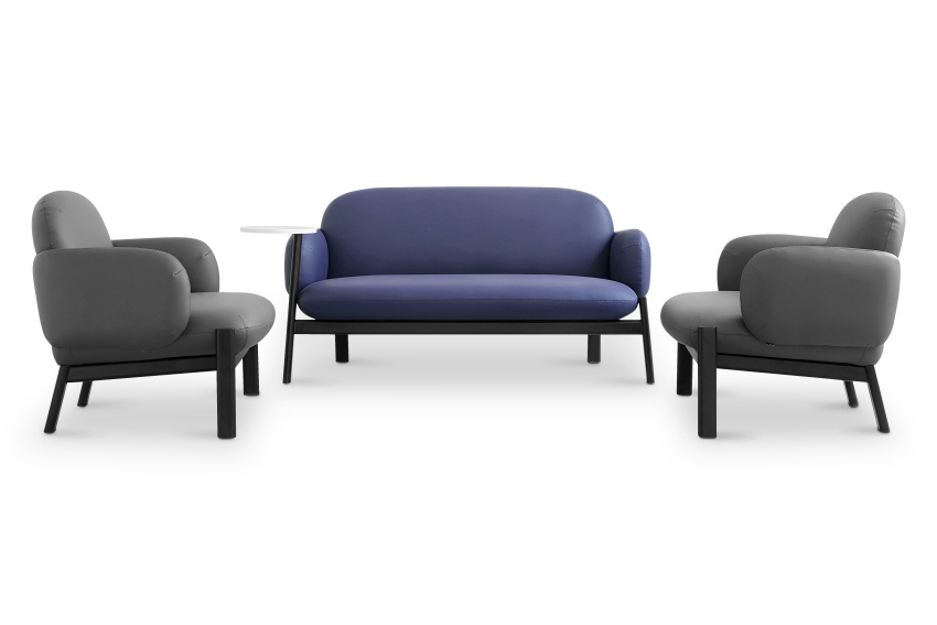 Modern Office Furniture Farbric Couch
