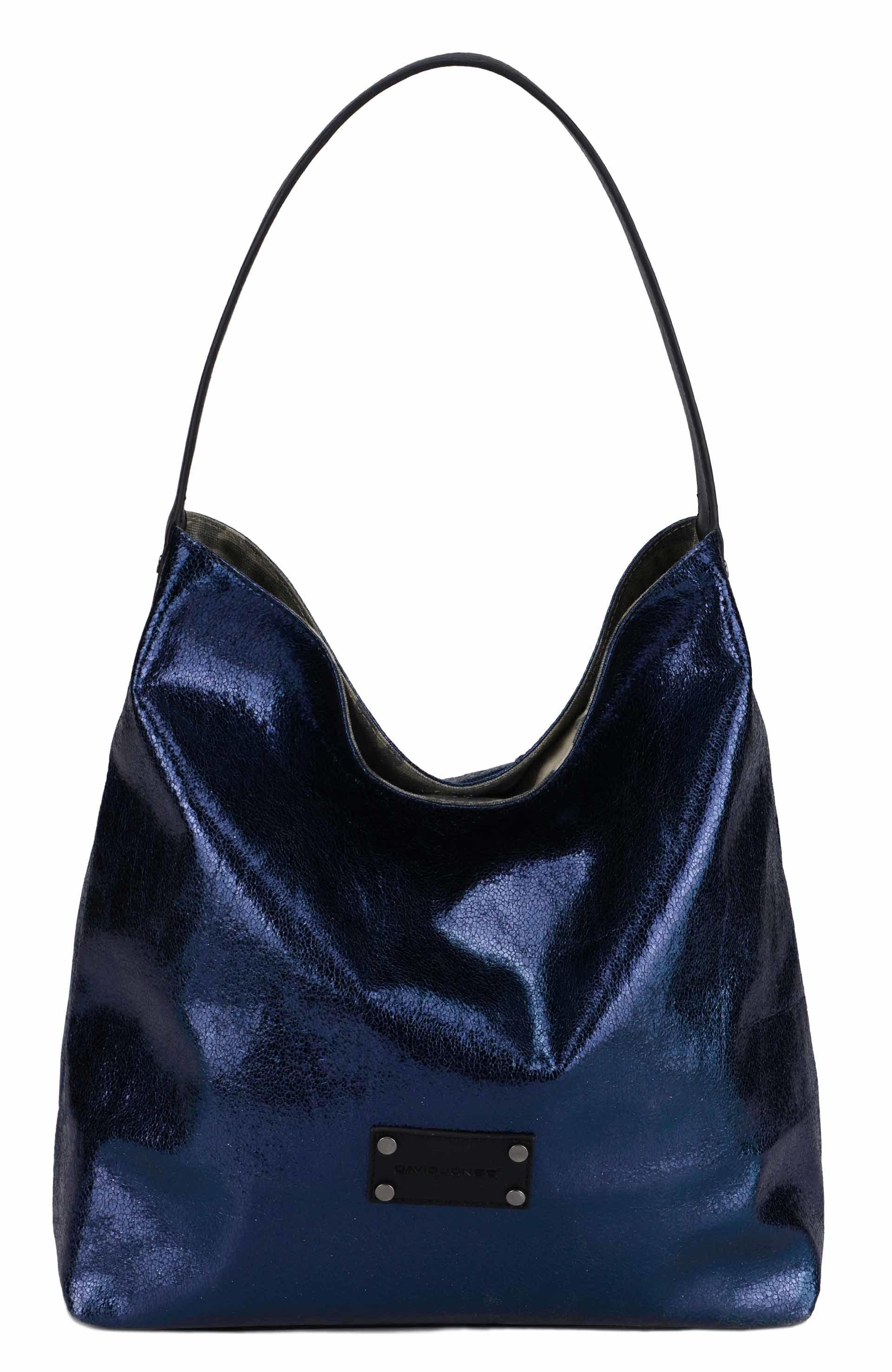 Reversible Pu Canvas Tote Handbag