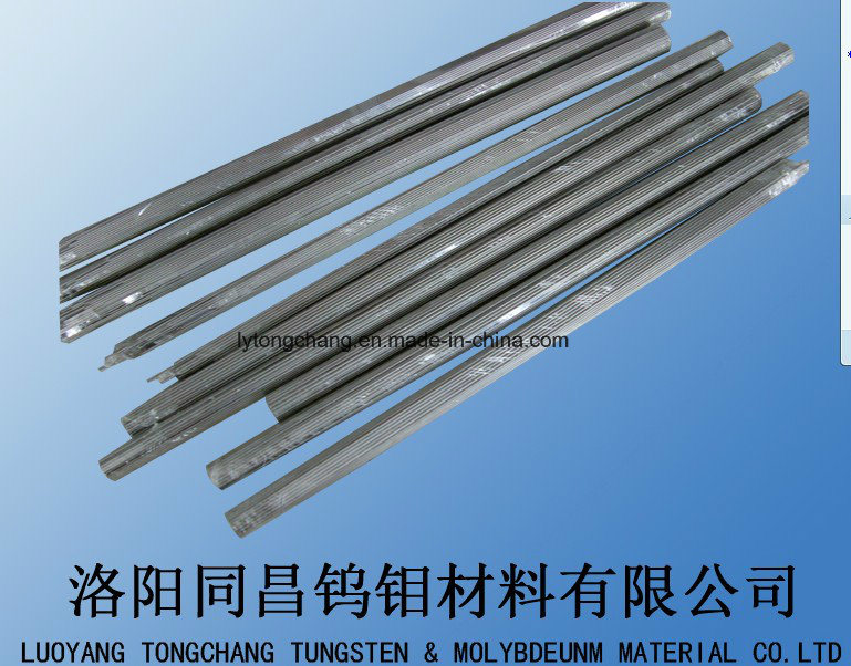 Ground, Polished Molybdenum Rod