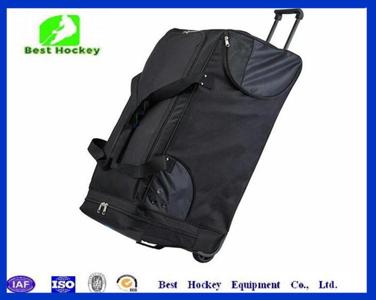 Hot Item Heavy Duty Double Zippers Wheeled Ice Hockey Bags