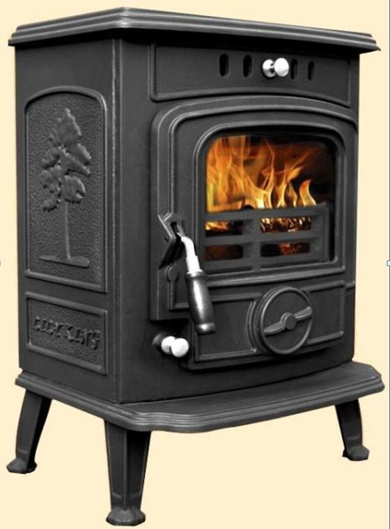China 627 Free Standing Wood Burning, Cast Iron Wood Burning Stove Fireplace
