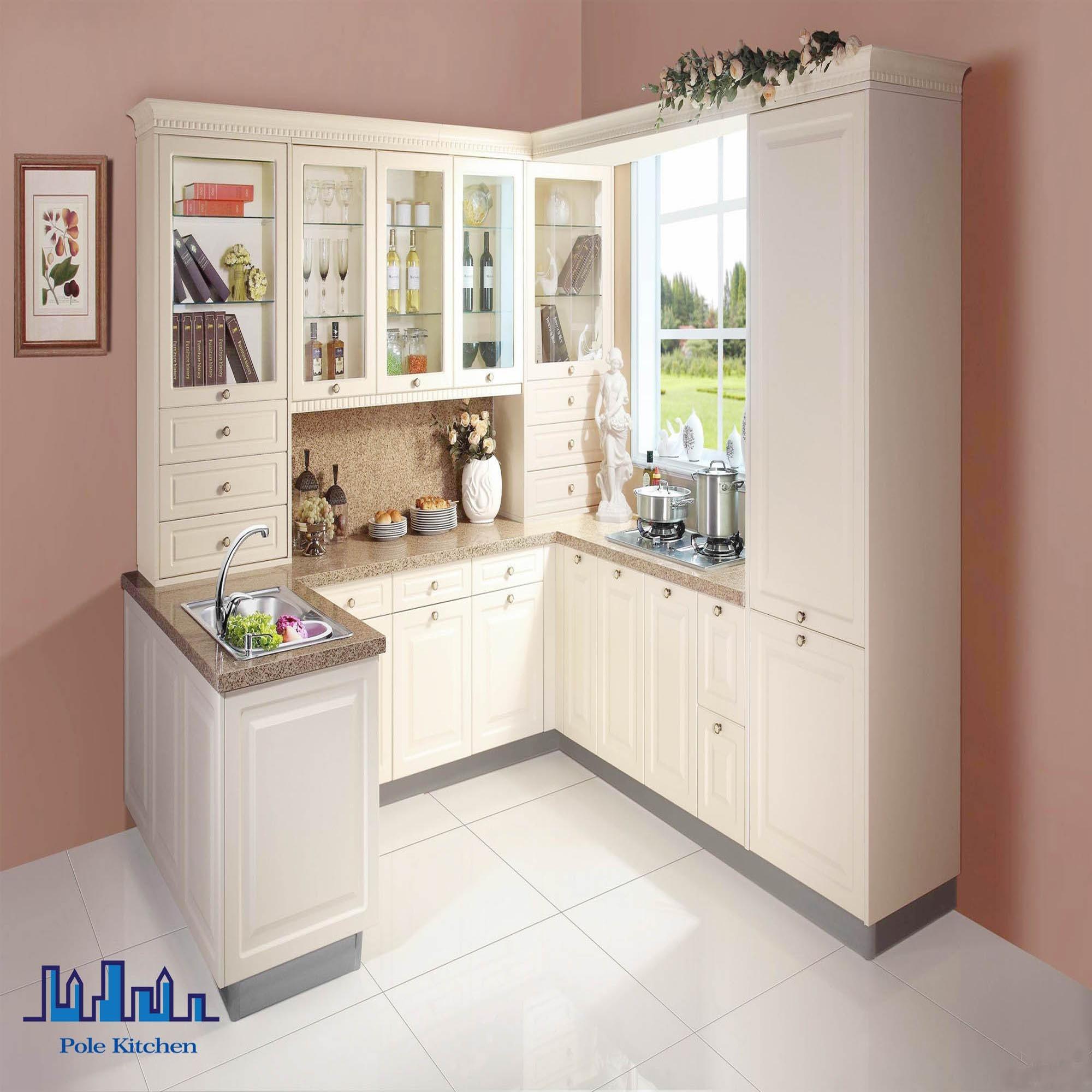 China Matte and High Gloss Lacquered Kitchen Cabinets - China ...
