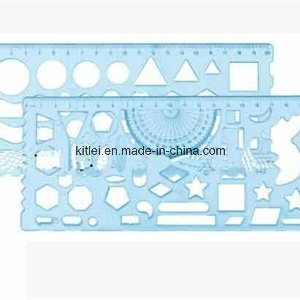 china plastic geometry template drawing kids educations learning