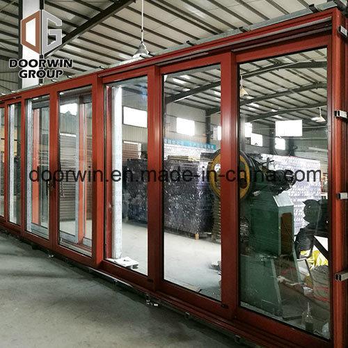 China Thermal Break Aluminum Sliding Patio Doors For Balcony China