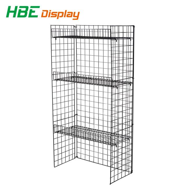 China Wire Mesh Panel Store Fixtures Display Stand - China Display ...