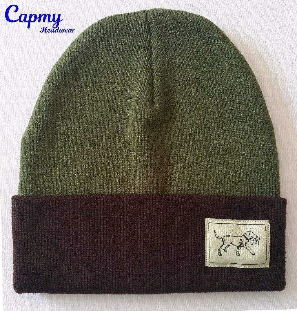c074bd43b24 China Promotional Winter Hat with Custom Design Label Beanie Hat ...
