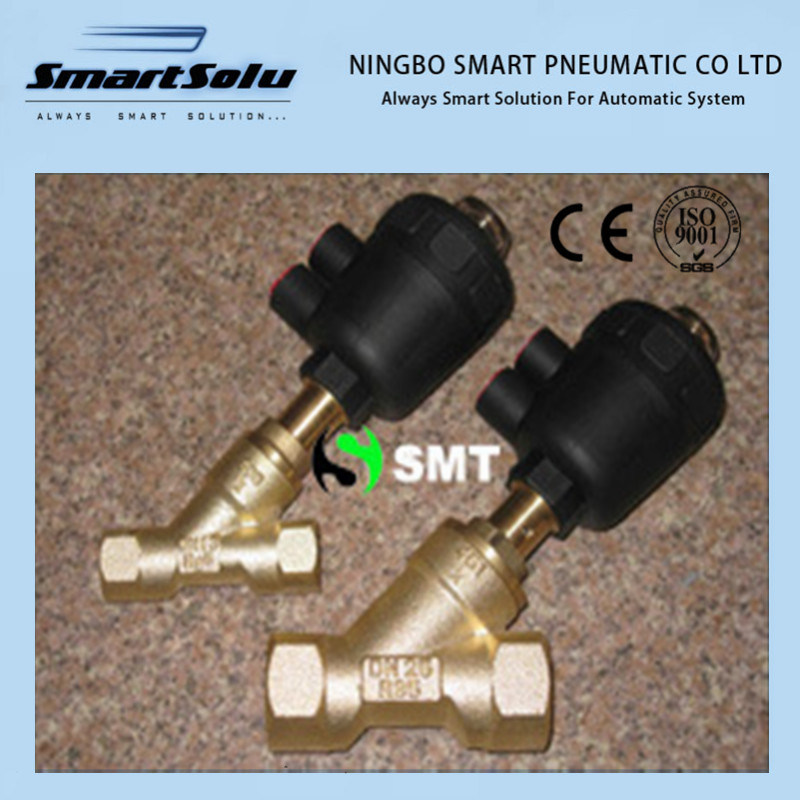 Brass Atuator Angle Seat Valve pictures & photos