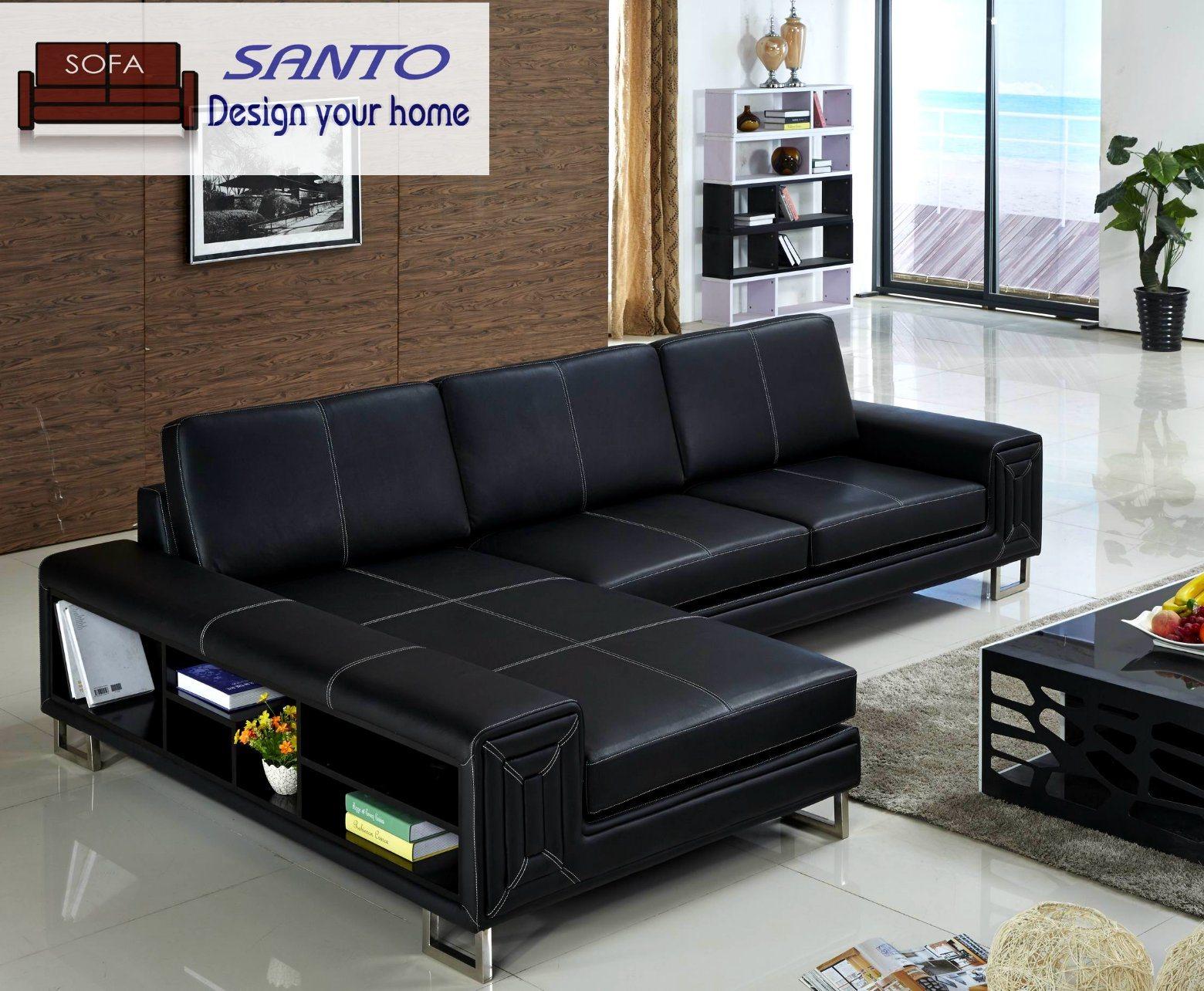 China Gremany Living Room Leather Sofa