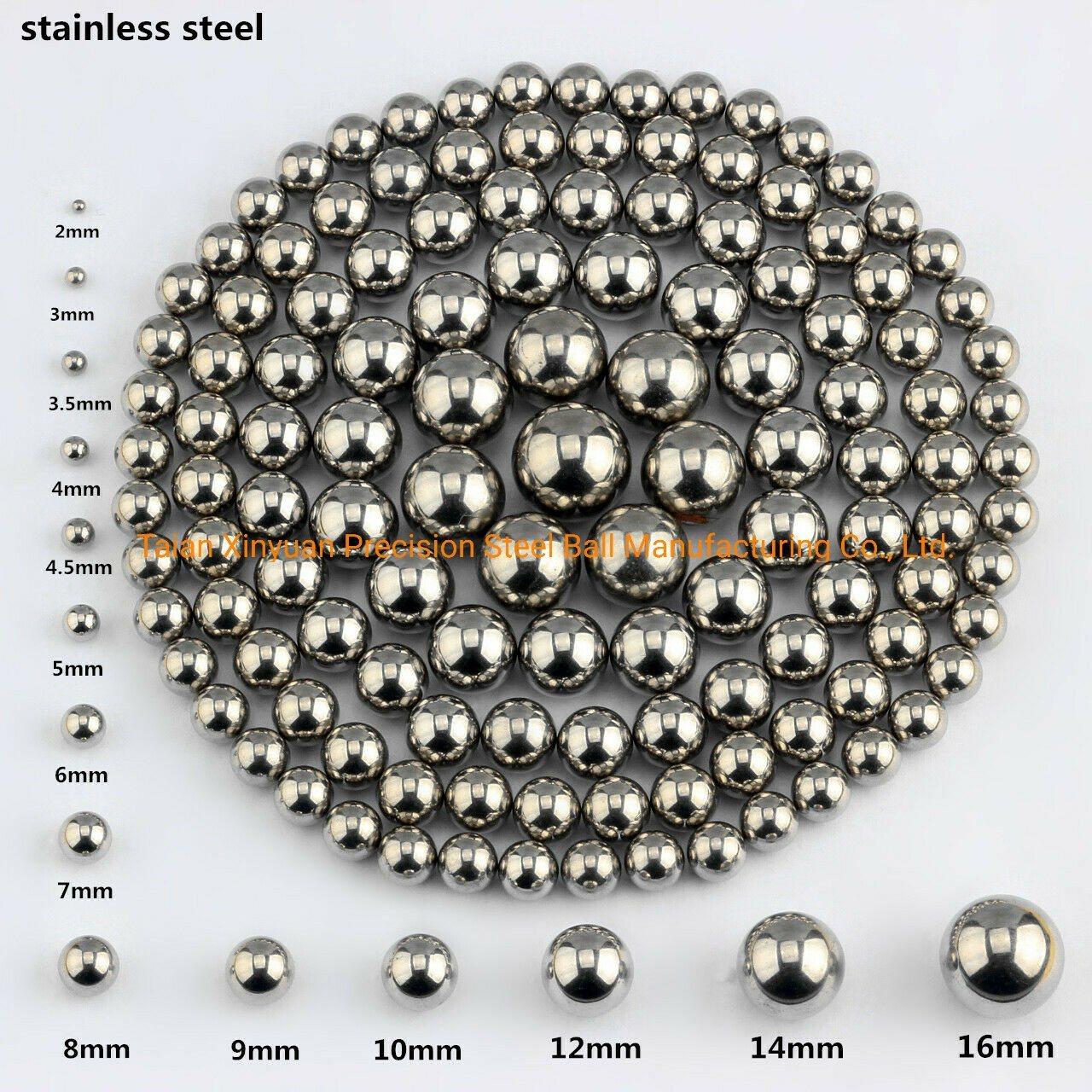 """Three 5//8/"""" Inch G25 Precision Chromium Chrome Steel Bearing Balls AISI 52100"""