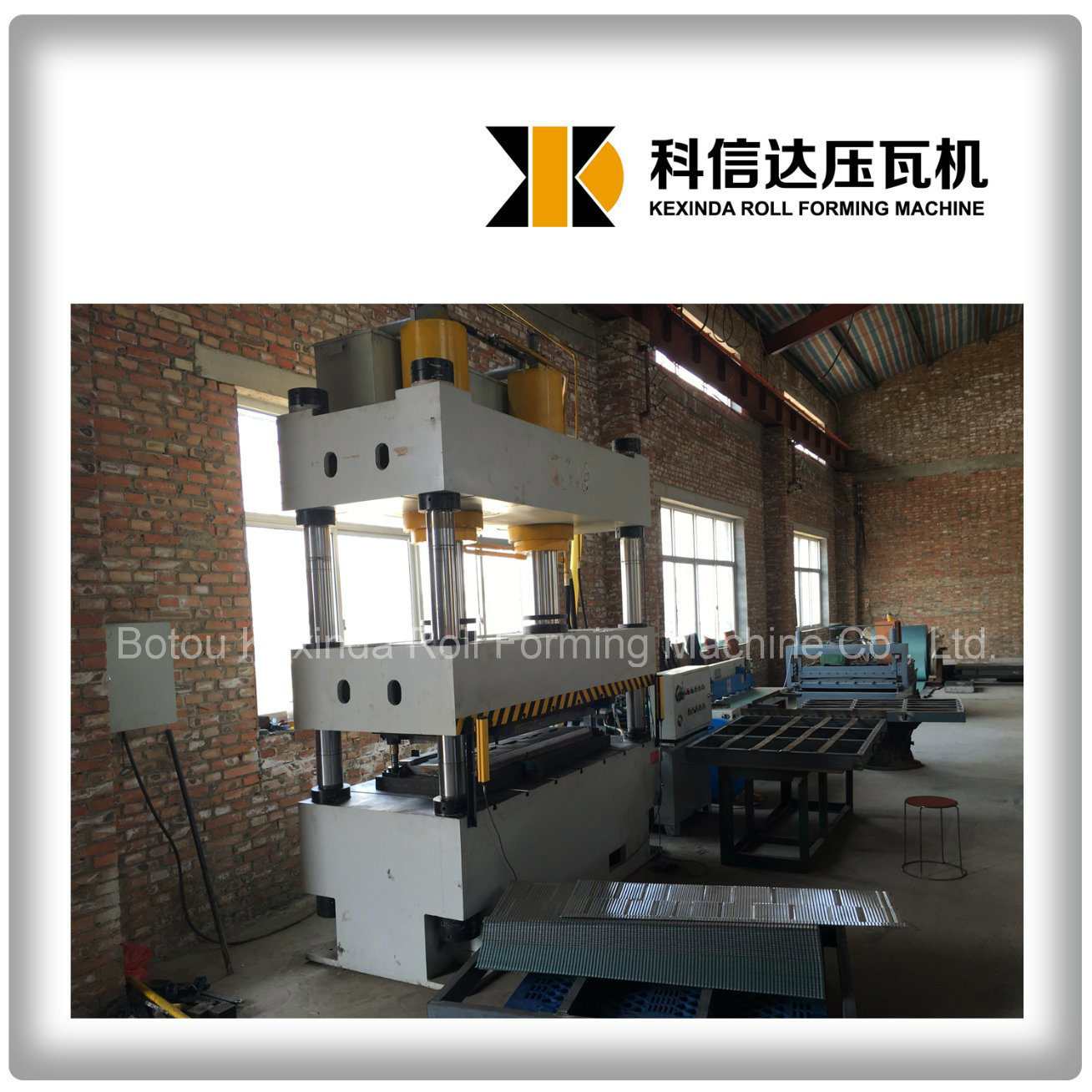 Sand Blasting Machines Stone Coated Metal Roof Tile Making Machine pictures & photos