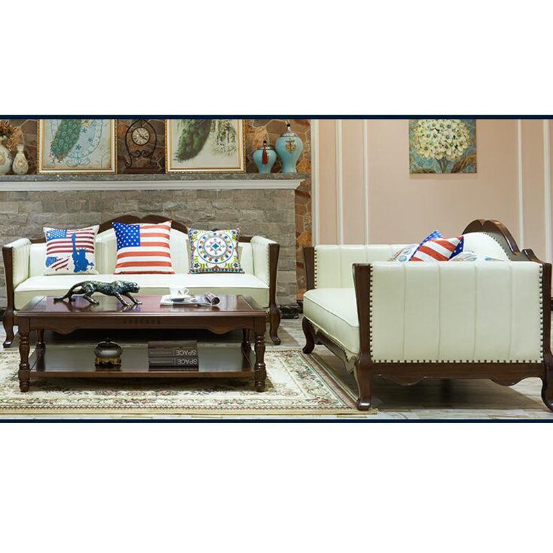 American Modern Design Genuine Leather Sofa for Living Room Furniture as 845 pictures & photos